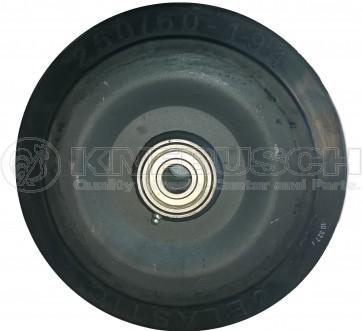 Rad GB/200/80/5/25 mit Kugellager