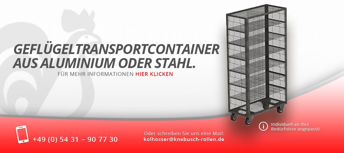 Knebusch - Geflügeltransport-Container