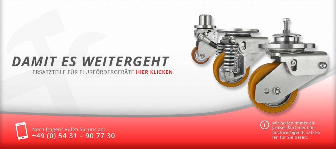 Knebusch - Infoslider über die Ersatzteilprodukte von Knebusch
