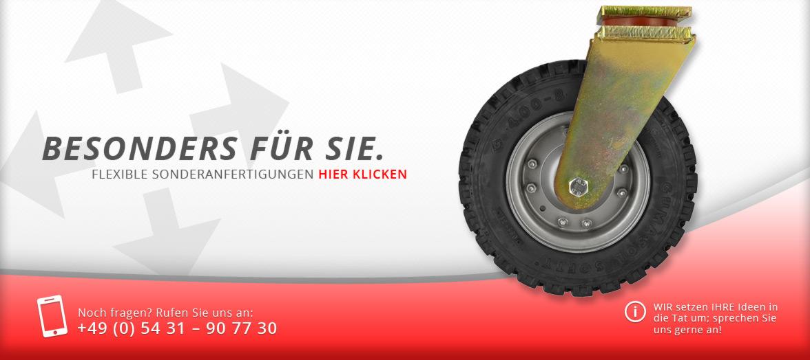Knebusch - Infoslider über die Sonderanfertigungen von Knebusch